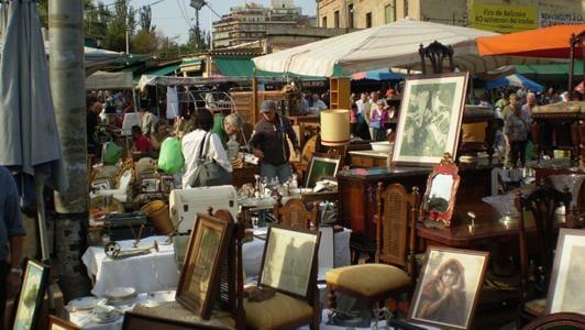 Рынок Els Encants vells de Barcelona