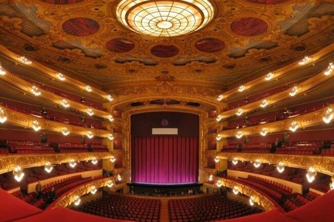 Зал театра Лисеу