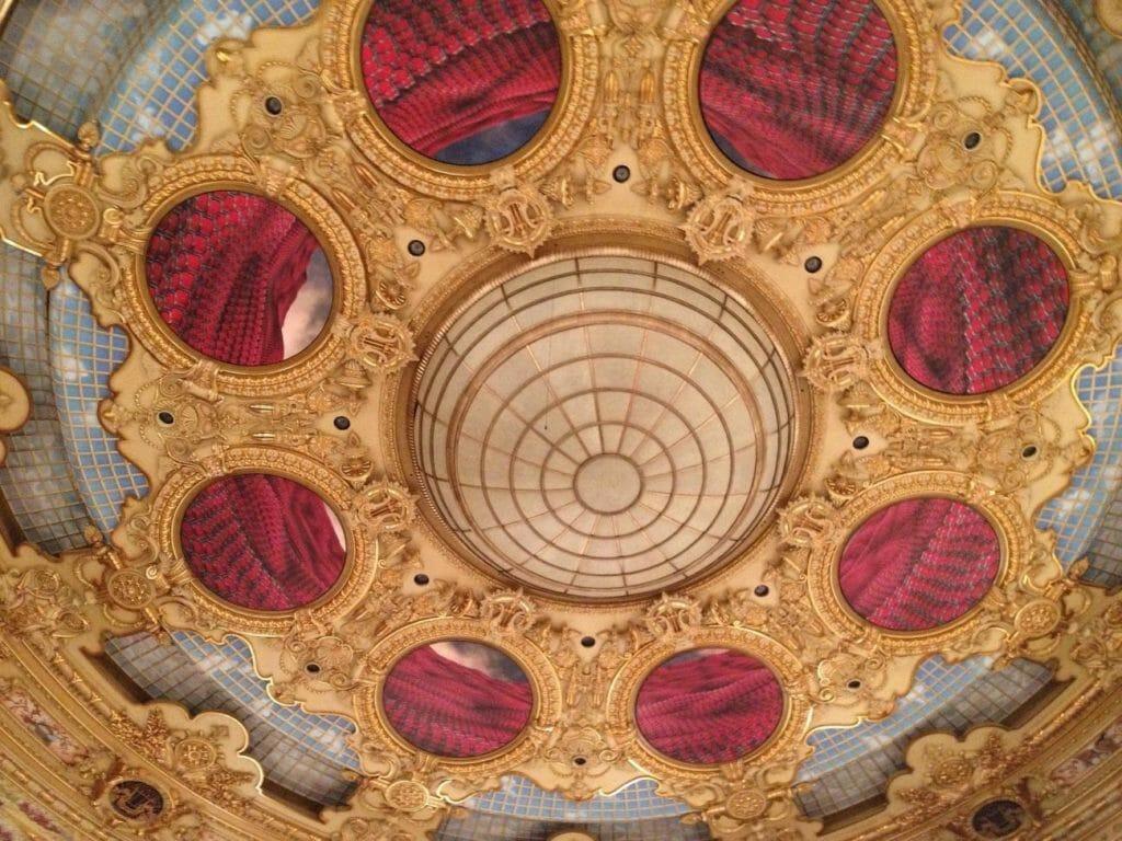Потолок театра Лисеу