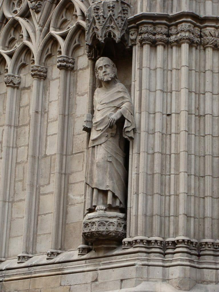 Санта Мария дель  Мар портал